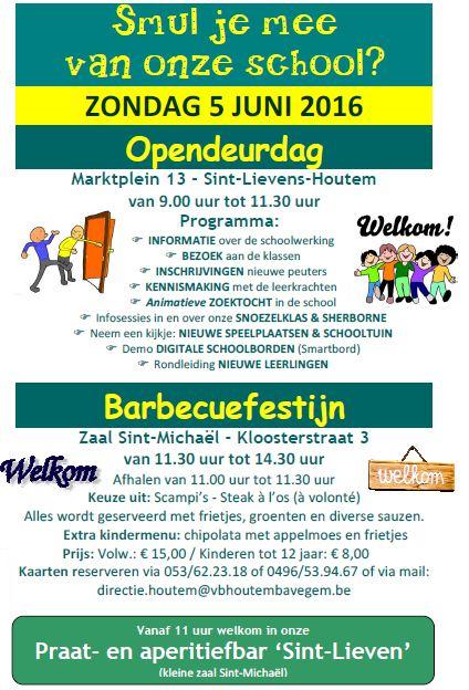 opendeurdag + barbecuefestijn SLI 2016
